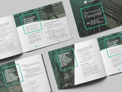 Design a corporate quality brochure