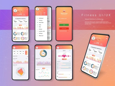 UI / GUI / UX For Android / iOS  Application Design