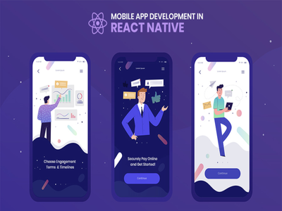 Develop React Native app for both iOS and Android