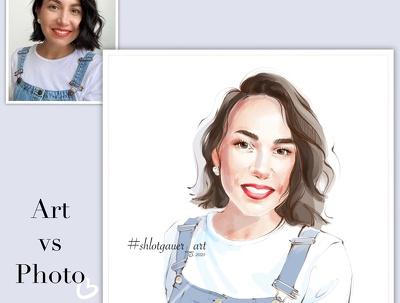 Portrait / fashion portrait