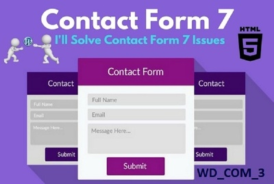 Create and fix contact form issue in wordpress and Shopify