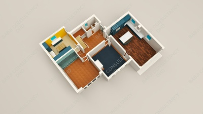 Convert your 2d floorplan to 3d floorplan