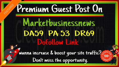 guest Post on Marketbusinessnews. com DA63 DR69