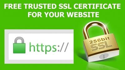 Install SSL certificate in your website
