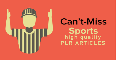 Get you 2000 PLR articles for sport content