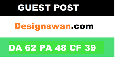 Publish guest post on  Designswan.com