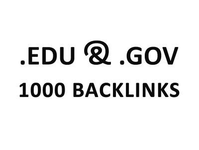 Create 1000 edu/gov backlinks