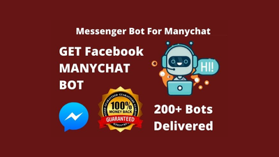 Build facebook messenger chatbot in manychat