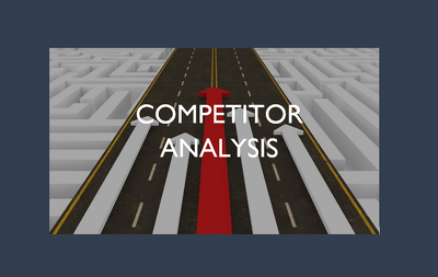 Do a competitor analysis for your company (8 competitors)