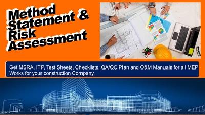 Write Method Statement & Risk Assessment (MSRA / RAMS)