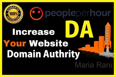 Increase domain authority with high authority backlinks
