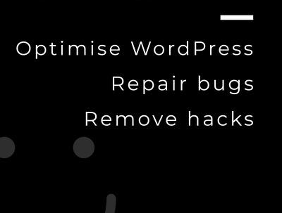 Repair your WordPress website