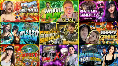 Make eye catching youtube gaming thumbnail professionally
