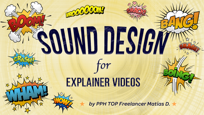 Sound Design for your Explainer Video