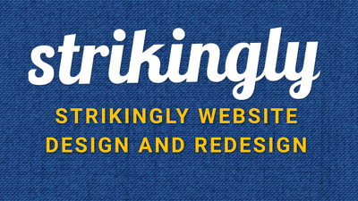 Create strikingly website and redesign your website