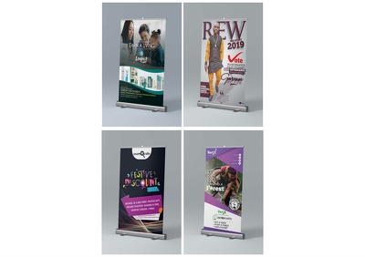Create a nice concept roll up banner