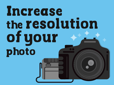 Improve your photograph resolution