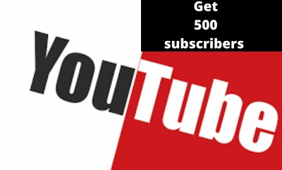 I will give 500 subscribe to youtube
