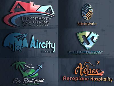 Professional Logo Design & 4 Concepts with Unlimited Revisions