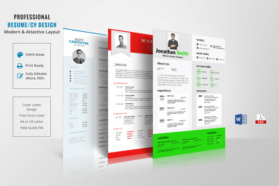 Perform Professional Resume Design and CV Design