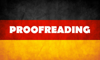 Proofread and Correct German Content, 1000 words | TOP CERT