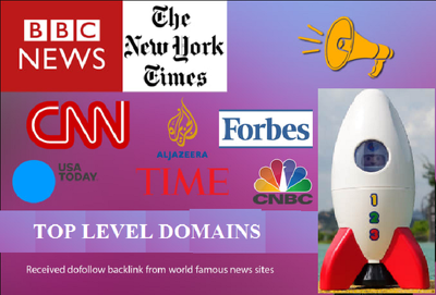 hQ Backlinks from Forbes, Guardian, BBC, CNN and other Top Sites