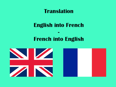 Translate from English into French ( 400 words)