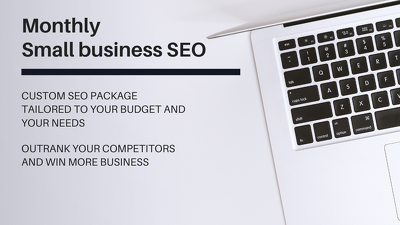 Provide a proven small business SEO strategy  ⚡