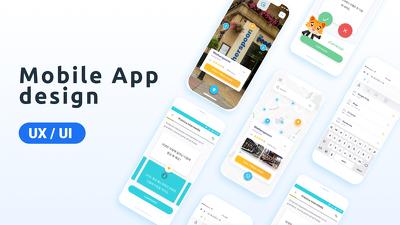 Design a unique mobile app Ui Ux