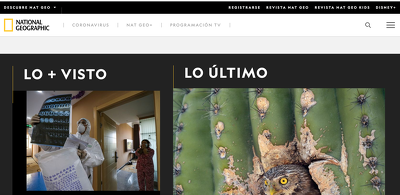 Write and publish on National Geographic Spain