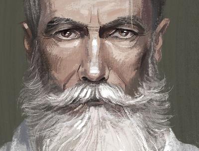 Paint a digital portrait