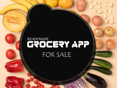 Develop grocery app with web backend