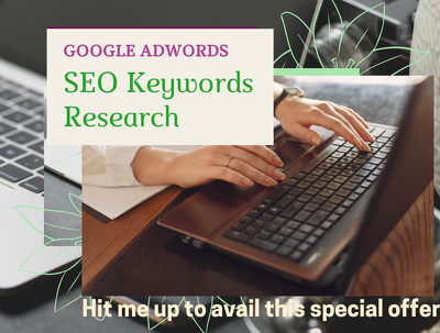 Do SEO keywords research to rank your website/blog