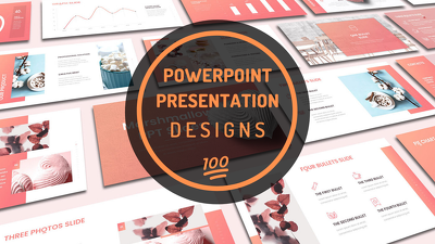 Design eye catching presentation with unlimited revisions