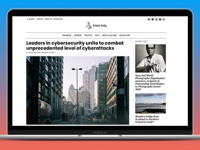 publish an article on a UK news website