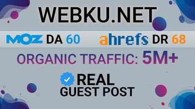 Publish Guest Post on webku - webku.net DA 62 Dofollow Link