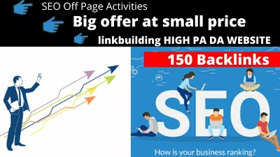 I will give 150 backlinks in five days