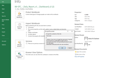 Unlock and enable editing password protected Excel spreadsheets