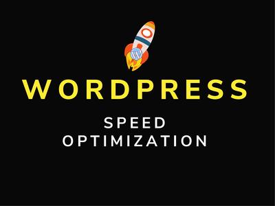 Do wordpress speed optimization