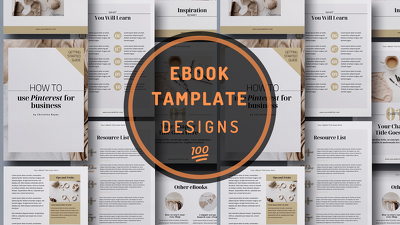 Design stylish,eye catching format/template of Ebook