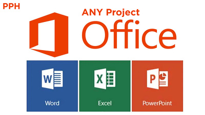 Do ANY JOB Related to Microsoft Word, Excel and PowerPoint