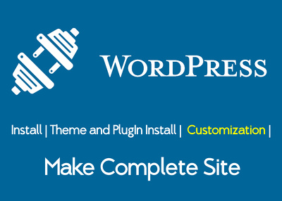 install and customize WordPress theme instantly
