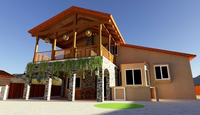 provide Architectural design and 3d rendering