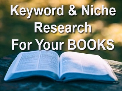 Amazon Kindle Niche  and categories research for your book