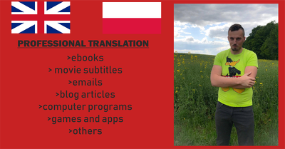 Translate up to 1000 words from EN to PL and PL to EN