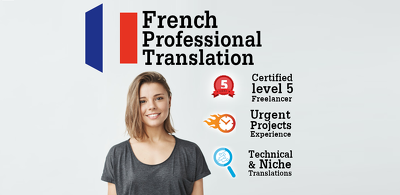 Translate documents from English to French