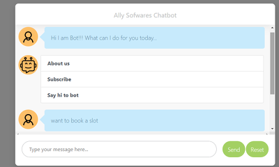 Develop AI Chat Bot for websites and Apps