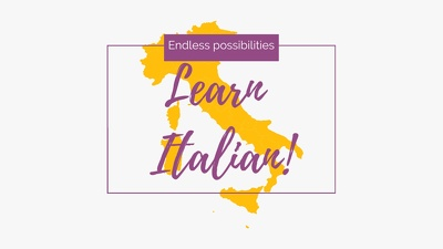Teach you Italian, one hour at a time!