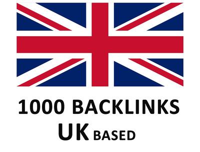 Build 1000 UK specific Backlinks