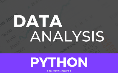 Do DATA ANALYSIS with Python in Jupyter Notebook